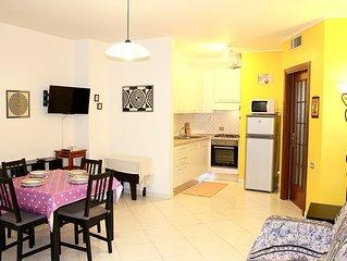 Pratico e confortevole appartamento a Cagliari, con parcheggio.