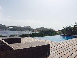 Villa de standing,piscine et vue mer panoramique