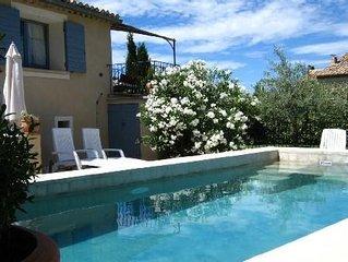 Maison,piscine privée chauffée,4-6 pers,Provence,Vaucluse, Mont Ventoux
