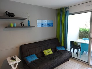Apartment 4-5 pers. 200 m from the sea (Sunset beach). La Grande-Motte.