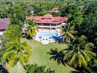 Dream Villa 6 BR 10,000 Sq.Ft, Sea View, on Golf Course
