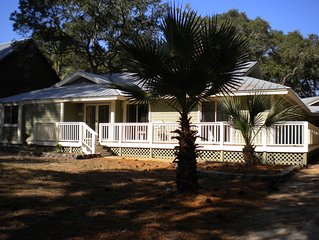 Fripp Island, Spacious, Newly Decorated, Golf Course View, 4 BR/3 BA