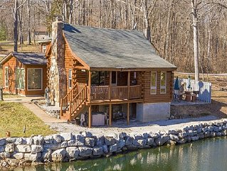 Authentic Log cabin with something for everyone.. See video in photos section