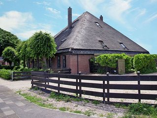 Well-maintained holiday home in an old Dutch haubarg farmhouse near Egmond aan