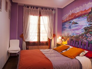 Apartamento en Cimadevilla Gijon. N° Registro de Turismo: VUT-114-AS