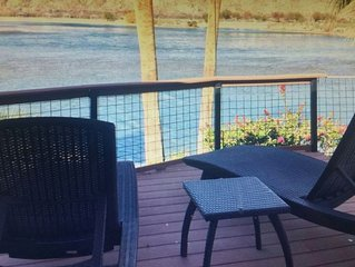 RIGHT ON THE RIVER - HOUSE & CASITA  Close to Laughlin/Casinos