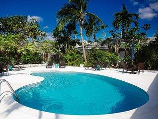 Nice villa near Atlantis, 2 bedrms,2 baths, 6 pers. pool, BBQ, WiFi, dishwasher