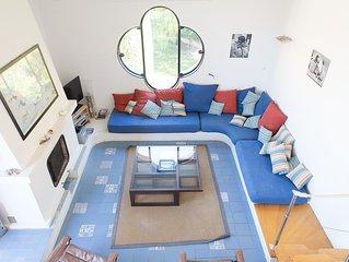 Très bel appartement sur Porquerolles, grande terrasse avec vue exceptionnelle