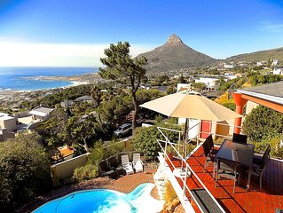 Exceptional holiday home with panoramic view in Camps Bay