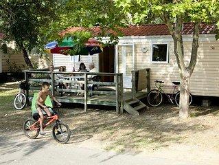 Camping Via Romana** - Mobil Home 3 Pièces 4 Adultes + 1 Enfant Sans Sanitaires