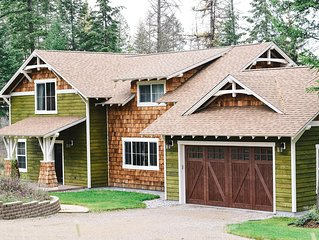 New 4 Bedroom Cottage in Bigfork, Montana, Near Flathead Lake and Glacier Par