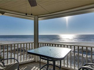 Relaxing Screened Porch and Widow's Walk With Amazing Ocean Views- Cozy Wild Du