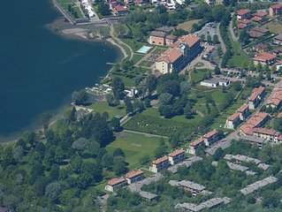 Villa with direct access to Lake Lugano 8-12 people
