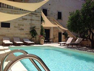 Dimora storica con piscina e giardino- vicino al mare di Otranto e alle terme