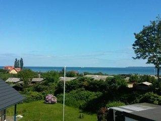 Modernes Ferienhaus mit wunderschönem Blick auf die Ostsee