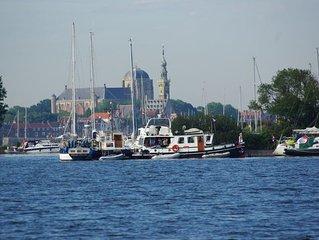 Grosszugiges Ferienhaus am Veerse Meer mit eigenem Bootssteg, Haustiere erlaubt