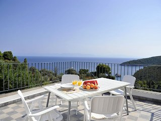 Stunning Sea Views across the Aegean, Stafilos villa.Total privacy,WIFI