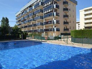 Appartement avec climatisation  - résidence avec piscines et aires de jeux