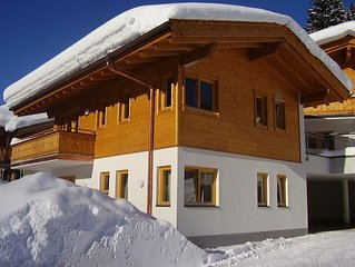 Luxury private chalet in Saalbach-Hinterglemm Ideal for family groups and groups
