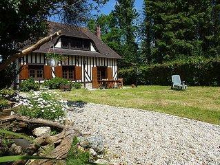Vacation home Le Clos des Rossignols  in Deauville - Trouville, Normandy - 5 pe
