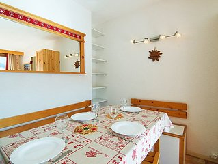 Apartment Lunik Orion  in Le Corbier, Savoie - Haute Savoie - 4 persons, 1 bedr