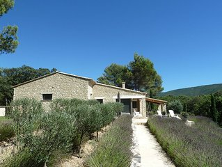 Villa in the countryside, Menerbes