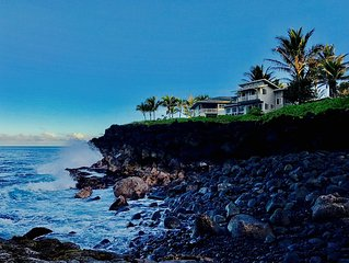 3-Level OCEANFRONT HOME
