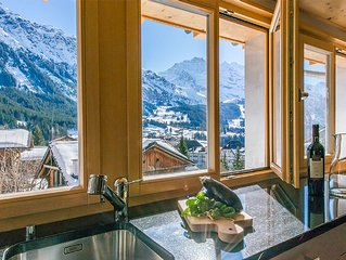 Penthouse Apartment Just 310 Meters from the Ski Pistes!