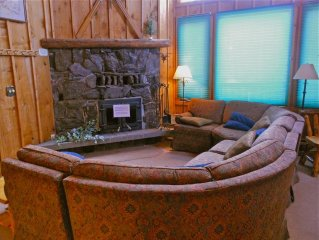Lodgepole Lower is a multi-level 3-bedroom, 2 and a half bath