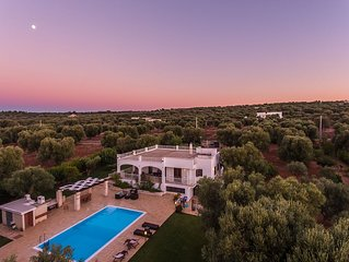 Magnificent villa with pool, in the beautiful countryside.