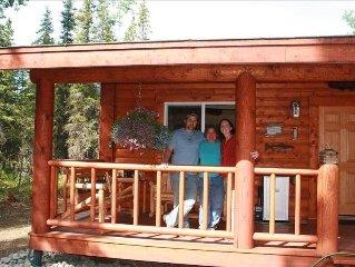 Fish on Log Cabin Rental (Got Fish We Do!!)