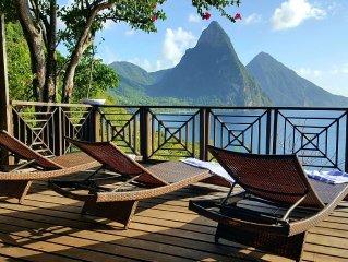 �La Batterie Villa • Beautiful Boutique Island Villa with Breathtaking Views �