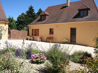 Dordogne Newly Built Four Bedroom House With Private Pool, Quiet Location.