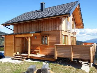 Newly built chalet: on the south side of the Alps in the family friendly Carint
