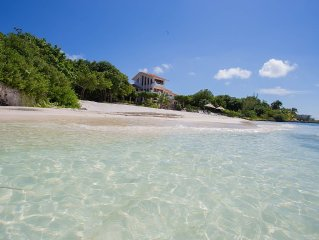 Enjoy your own private beach in this Amazing Luxury Beachfront property!!!