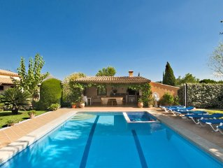 VILLA ROSALEDA FOR 12 PEOPLE WITH PRIVATE POOL