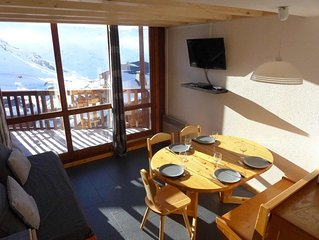 Val Thorens Silveralp 43 m2 6 persons South West i