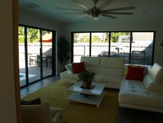 Newly Renovated Bungalow with HEATED POOL!