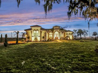 Luxury Lakefront Estate with Privacy on over 2 acres.