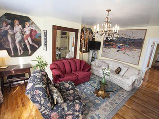 Bright, Charming 3-BR Apartment In Hudson