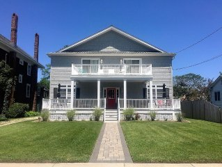 Majestic and Magical Cape May Beach House: Just Steps to the Beach!