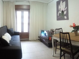En el centro historico acogedor apartamento en Logroño,