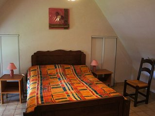 Ferienhaus Chaumiere de Kernallec  in Tregunc, Bretagne Sud - 5 Personen, 2 Schl