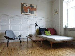 City Apartment in Frederiksberg Kommune mit 2 Schlafzimmern 5 Schlafplätzen