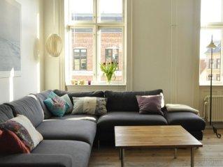 City Apartment in Kopenhagen mit 3 Schlafzimmern 5 Schlafplatzen