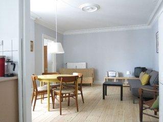 City Apartment in Kopenhagen mit 1 Schlafzimmern 2 Schlafplatzen