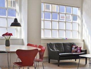 City Apartment in Kopenhagen mit 4 Schlafzimmern 6 Schlafplätzen