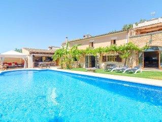 ES PORRASSAR - Villa for 11 people in Cas Concos.