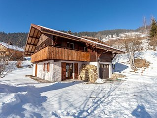 Traditional family ski chalet - LAST MINUTE SUMMER PROMO