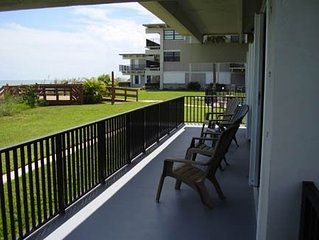 Ocean Front First Floor - Just steps away from beach and pool